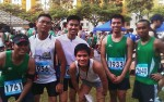 Finishers - New Friends made as we conqured the distance