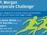 Press Release: 2013 J.P. Morgan Corporate Challenge inSingapore