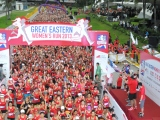 Press Release: North Korean's Kim Hye Gyong wins the Great Eastern Women's Run 2013