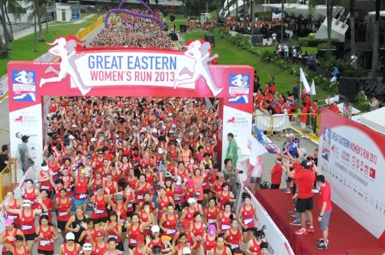 Participants at the Great Eastern Women's Run 2013 - 10km Category (2) (3200x2125)