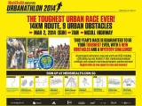 Press Release: 5th Men's Health Urbanathlon 2014