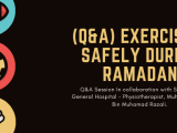 (Q&A) Exercising safely during Ramadan