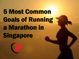5 Most common Goals of Running a Marathon in Singapore