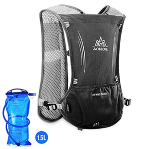 AONIJIE Hydration Pack Backpack 5L Marathoner Running Race Hydration Vest